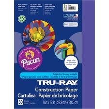 PAC 103019 Pacon Tru-Ray Construction Paper PAC103019