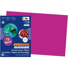 PAC 103628 Pacon Riverside Super Heavywt. Construction Paper PAC103628