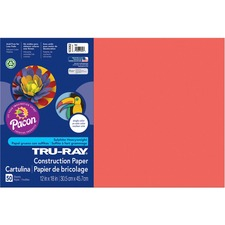PAC 103062 Pacon Tru-Ray Heavyweight Construction Paper PAC103062