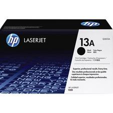 HP 13A (Q2613A) Original Toner Cartridge - Single Pack - Laser - 2500 Pages - Black - 1 Each