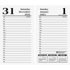 HOD 4717 Doolittle Economy Desk Calendar Daily Refill HOD4717