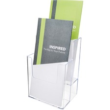 DEF 77201 Deflecto 2-tier Desktop Literature Holder DEF77201