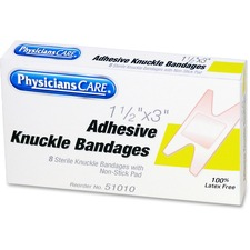 PhysiciansCare Fabric Knuckle Bandages Refill
