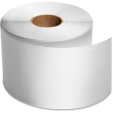 "Dymo Direct Thermal Receipt Paper - White - 2 1/4"" x 300 ft - 1 Roll"