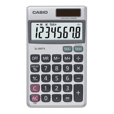 Casio Wallet Style Pocket Calculator