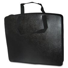 "Filemode Carrying Case (Tote) Accessories - Black - Water Resistant, Tear Resistant - Polypropylene - Handle - 18"" (457.20 mm) Height x 24"" (609.60 mm) Width x 4"" (101.60 mm) Depth"