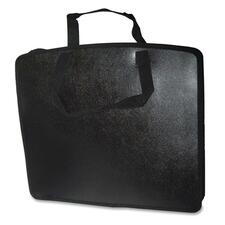 "Filemode Carrying Case (Tote) Accessories - Black - Water Resistant, Tear Resistant - Polypropylene - Handle - 21"" (533.40 mm) Height x 27"" (685.80 mm) Width x 4"" (101.60 mm) Depth"