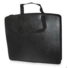 "Filemode Carrying Case (Tote) Accessories - Black - Water Resistant, Tear Resistant - Polypropylene - Handle - 15"" (381 mm) Height x 18"" (457.20 mm) Width x 4"" (101.60 mm) Depth"
