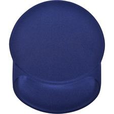 "DAC Super Gel Race Track Mouse Pad - 8"" (203.20 mm) x 9.75"" (247.65 mm) Dimension - Blue - Gel - 1 Pack"