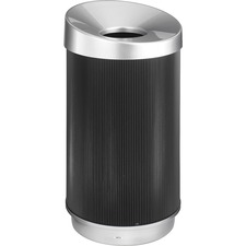 SAF 9799BL Safco At-Your-Disposal Vertex Waste Receptacle SAF9799BL