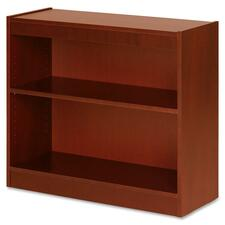 LLR89050 - Lorell Two Shelf Panel Bookcase