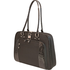 "Mobile Edge ScanFast Women's Onyx 15.4"" Notebook Briefcase"