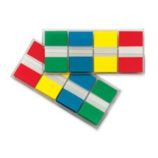 """Post-it® Standard Colors Portable Flag - 1"""" - 4 / Pack"""