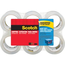 MMM 38506 3M Scotch Heavy Duty Shipping Packaging Tape MMM38506