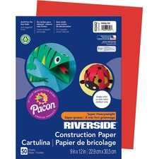 PAC 103442 Pacon Riverside Groundwood Construction Paper PAC103442
