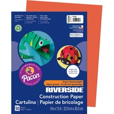 PAC 103594 Pacon Riverside Groundwood Construction Paper PAC103594