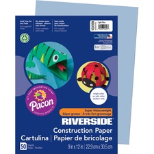 PAC 103599 Pacon Riverside Groundwood Construction Paper PAC103599