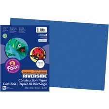 PAC 103625 Pacon Riverside Super Heavywt Construction Paper PAC103625