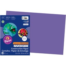 PAC 103627 Pacon Riverside Super Heavywt Construction Paper PAC103627