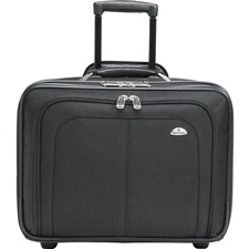 SML 110211041 Samsonite Zip Away Ballistic Rolling Notebook Case SML110211041