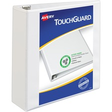 AVE17144 - Avery&reg TouchGuard Protection Slant D-ring Heavy-duty View Binder