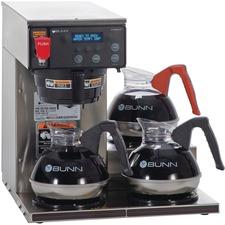 BUN 387000002 Bunn-O-Matic 12-cup Dgtl 3-Wrmr Commercial Brewer BUN387000002