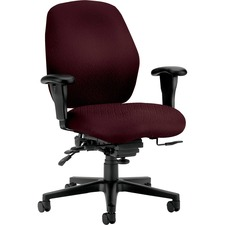 HON 7828NT69T HON 7800 Srs Seat Glide Mid-back Task Chairs  HON7828NT69T