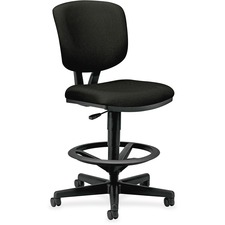 HON 5705GA10T HON Volt Adjustable Footring Swivel Task Stool HON5705GA10T
