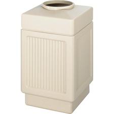 SAF 9475TN Safco Indoor/Outdoor Waste Receptacle SAF9475TN