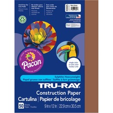 PAC 103025 Pacon Tru-Ray Heavyweight Construction Paper PAC103025