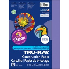 PAC 103009 Pacon Tru-Ray Heavyweight Construction Paper PAC103009