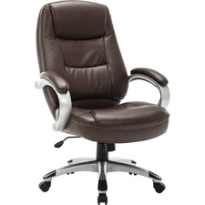 LLR 63280 Lorell Westlake Leather Executive High-back Chair LLR63280