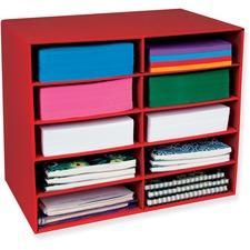 PAC 001314 Pacon 10-Shelf Organizer  PAC001314