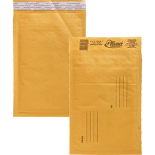 ALL 10802 Alliance Kraft Bubble Mailers ALL10802
