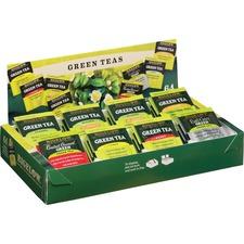 BTC 30568 Bigelow Assorted Green Tea Tray Pack BTC30568