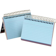 OXF 40285 Oxford Spiral Bound Ruled Index Cards OXF40285