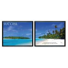 Advantus Success Panorama Framed Prints Pack