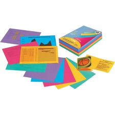PAC 101346 Pacon Array Laser Inkjet Colored Bond Paper PAC101346