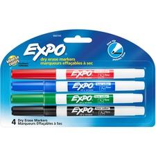 SAN 86674K Sanford Expo Low-Odor Dry Erase Fine Tip Markers SAN86674K