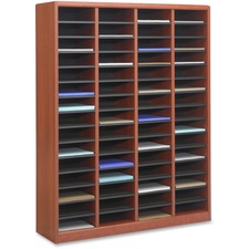 SAF 9331CY Safco E-Z Stor Light Wood Literature Organizers SAF9331CY