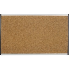 QRT ARCB3018 Quartet Arc Cork Cubicle Bulletin Board QRTARCB3018
