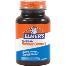 EPI E904 Elmer's ROSS 4 oz Bottle Rubber Cement w/ Brush EPIE904