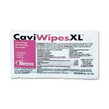 MRX MACW078155 Metrex Caviwipes XL Disinfecting Towelettes MRXMACW078155
