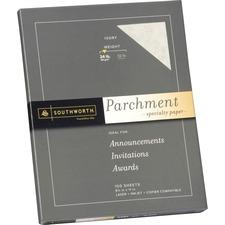 SOU P984CK Southworth 24lb Parchment Specialty Paper SOUP984CK