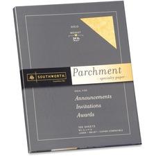 SOU P994CK Southworth 24lb Parchment Specialty Paper SOUP994CK