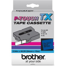 BRT TX5511 Brother TX Series Laminated Tape Cartridge BRTTX5511