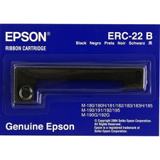 Epson Ribbon Cartridge - Dot Matrix - Black - 1 Pack