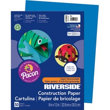 PAC 103600 Pacon Riverside Groundwood Construction Paper PAC103600