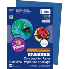 PAC 103601 Pacon Riverside Groundwood Construction Paper PAC103601