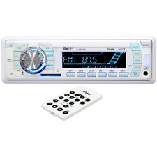 Pyle Hydra PLMR19W Marine CD/MP3 Player - 200 W RMS - iPod/iPhone Compatible - Single DIN